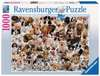WIELKA RODZINA PSÓW 1000 EL. Puzzle;Puzzle dla dorosłych - Ravensburger