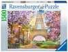 Puzzle 1500 p - Amour à Paris Puzzle;Puzzle adulte - Ravensburger