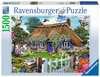 Anglické stavení 1500 dílků 2D Puzzle;Puzzle pro dospělé - Ravensburger