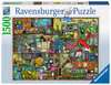 Das Krachmacher Regal Puzzle;Erwachsenenpuzzle - Ravensburger