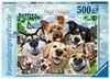 Vrolijke honden Puzzels;Puzzels voor volwassenen - Ravensburger