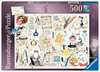 Crazy Cats Alphabet, 500pc Puzzles;Adult Puzzles - Ravensburger