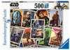 Puzzle 500 p - Baby Yoda / Star Wars Mandalorian Puzzle;Puzzle adulte - Ravensburger