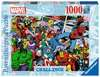 Puzzle 1000 p - Marvel (Challenge Puzzle) Puzzle;Puzzle adulte - Ravensburger