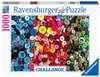 Challenge Buttons         1000p Puslespil;Puslespil for voksne - Ravensburger