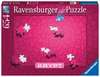 Ravensburger Krypt Pink Impossible 654 piece Jigsaw Puzzle for Adults & for Kids Age 12 and Up Puslespil;Puslespil for voksne - Ravensburger