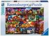 Travel Shelves, 2000pc Puslespil;Puslespil for voksne - Ravensburger