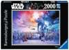 Star Wars episode I-VI Saga, 2000pc Puslespil;Puslespil for voksne - Ravensburger