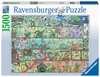 Zwerge im Regal Puzzle;Erwachsenenpuzzle - Ravensburger