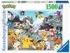 Puzzle 1500 p - Pokémon Classics Puzzle;Puzzle adulte - Ravensburger
