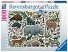 Wilde dieren Puzzels;Puzzels voor volwassenen - Ravensburger