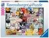 Wijnlabels Puzzels;Puzzels voor volwassenen - Ravensburger