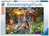 Hidden Tigers, 3000pc Puslespil;Puslespil for voksne - Ravensburger
