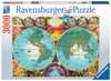 Antique Map Puslespil;Puslespil for voksne - Ravensburger