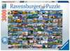 99 Beautiful Places in Europe Puzzle;Erwachsenenpuzzle - Ravensburger