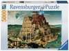 Brueghel the Elder: Věž v Babel 5000 dílků 2D Puzzle;Puzzle pro dospělé - Ravensburger