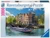 Grachtenfahrt in Amsterdam Puzzle;Erwachsenenpuzzle - Ravensburger