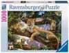 DUMNA MATKA LEPARDA 1000ELE Puzzle;Puzzle dla dorosłych - Ravensburger