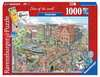 Fleroux Cities of the world: Amsterdam! Puzzle;Puzzles adultes - Ravensburger