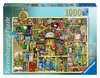 CT: The Bizarre Bookshop 2 1000pc Puslespil;Puslespil for voksne - Ravensburger