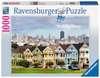 Painted Ladies, San Francisco Puzzle;Erwachsenenpuzzle - Ravensburger