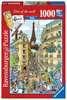 Fleroux Cities of the world : Paris! Puzzle;Puzzles adultes - Ravensburger