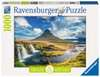 Wasserfall vor Kirkjufell, Island Puzzle;Erwachsenenpuzzle - Ravensburger