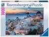 Abend über Santorini Puzzle;Erwachsenenpuzzle - Ravensburger