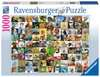 99 ZABAWNYCH ZWIERZĄT 1000EL Puzzle;Puzzle dla dorosłych - Ravensburger
