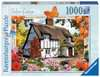 Country Cottage Collection - Sedum Cottage, 1000pc Puzzles;Adult Puzzles - Ravensburger