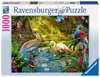 PTASI RAJ 1000 EL. Puzzle;Puzzle dla dorosłych - Ravensburger