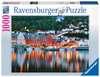 Puzzle 2D 1000 elementów: Bergen Norwegia Puzzle;Puzzle dla dorosłych - Ravensburger