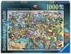 Puzzle 1000 p - European Wonders Puzzle;Puzzles adultes - Ravensburger