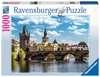 Praha: Pohled na Karlův most 1000 dílků 2D Puzzle;Puzzle pro dospělé - Ravensburger