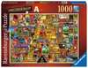 Colin Thompson - Awesome Alphabet A, 1000pc Puzzles;Adult Puzzles - Ravensburger