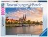 REGENSBURG WIDOK NA STARE MIASTO 1000EL Puzzle;Puzzle dla dorosłych - Ravensburger
