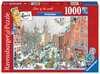 AMSTERDAM ZIMĄ 1000EL Puzzle;Puzzle dla dorosłych - Ravensburger