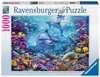 NIESAMOWITY PODWODNY ŚWIAT 1000 EL. Puzzle;Puzzle dla dorosłych - Ravensburger
