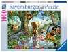 Puzzle 1000 p - Aventures dans la jungle Puzzle;Puzzles adultes - Ravensburger