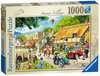 Leisure Days No.1 - Summer Village, 1000pc Puzzles;Adult Puzzles - Ravensburger
