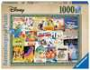 Disney Vintage Movie Posters, 1000pc Puslespil;Puslespil for voksne - Ravensburger