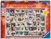 ŚWIĄTECZNBE ŻYCZENIA - KOLAŻ 1000EL Puzzle;Puzzle dla dorosłych - Ravensburger