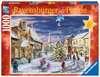 ŚWIĄTECZNA WIOSKA - 1000EL Puzzle;Puzzle dla dorosłych - Ravensburger