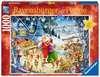 ŚWIĄTECZNE PRZYJĘCIE U MIKOŁAJA 1000EL Puzzle;Puzzle dla dorosłych - Ravensburger