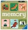 Camping Adventures Large Memory Spil;Børnespil - Ravensburger