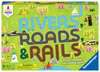 Rivers, Roads & Rails Games;Children s Games - Ravensburger