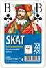 Klassisches Skatspiel, Französisches Bild mit großen Eckzeichen, 32 Karten in Klarsicht-Box Spiele;Kartenspiele - Ravensburger
