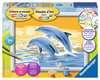 Springende dolfijn Hobby;Schilderen op nummer - Ravensburger