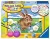 Süßes Kaninchen Malen und Basteln;Malen nach Zahlen - Ravensburger
