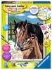 Pferd mit Fohlen Malen und Basteln;Malen nach Zahlen - Ravensburger